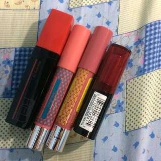 Authentic lippies lipstick bundle