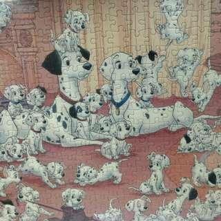 紅木相框•配101斑點狗puzzle🐕
