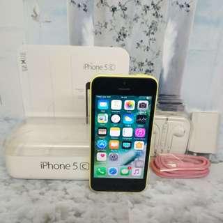 Iphone 5C 32gb yellow 4G mulus, bisa tt