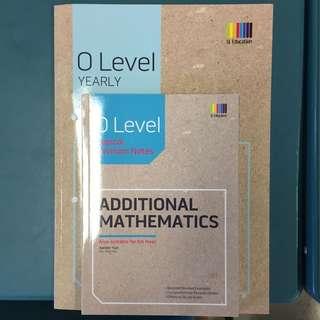 BN O Level Yearly Additional Mathematics Ten Year Series TYS