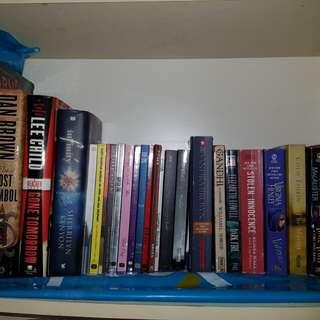 Random Books (YA Romance Thriller Fantasy SciFi Zombies)