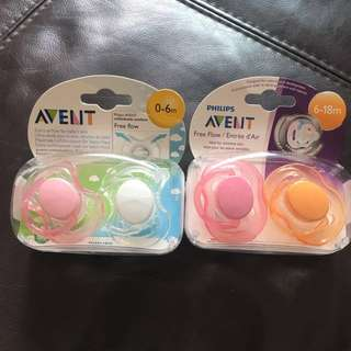 Free mailing BN Philips Avent Pacifier