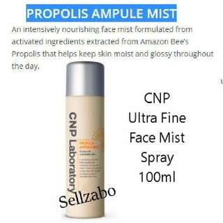 Ultra Fine Mist : CNP Laboratory Propolis Ampule Face Spray 100ml Sellzabo Nourishing Rejuvenate Skin Care Skincare Travel Size Facial Toner Korea 100g