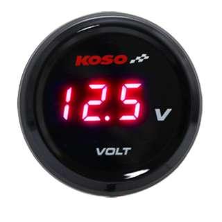 KOSO Round Voltmeter i-GEAR METER ( VOLT )