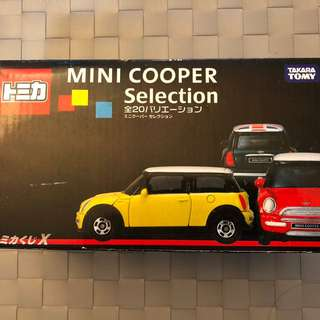 Mini cooper selection 20架/$1500 tomica