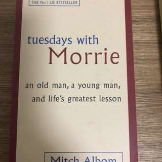 Tuesdays with Morries - Mitch Albom