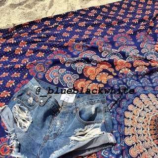 [3 for $100] Mandala tapestry beach towel picnic mat