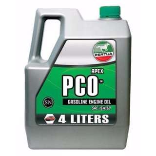 Pertua Apex PCO Gasoline Engine Oil SAE15W/50 4L