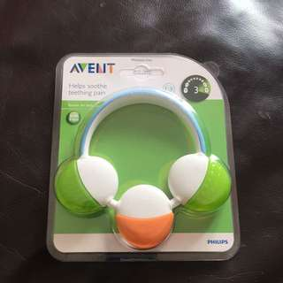 Free mailing BN Philips Avent Soothe Teether