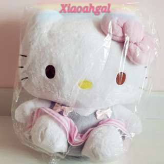 💖50% OFF➡️ MY FOLLOWERS ONLY!💖🎀$59.90➡️$29.90🎀🏵BIG 35CM🏵🐰JAPAN SANRIO ORIGINAL - AUTHENTIC BRAND NEW +TAG (Clean in plastic)🐰RIBBON SCHOOLING UNIFORM HELLO KITTY SOFT FUR Plush/Doll/Toy! 💋See description=better deals!💋 No Pet No smoker clean Hse