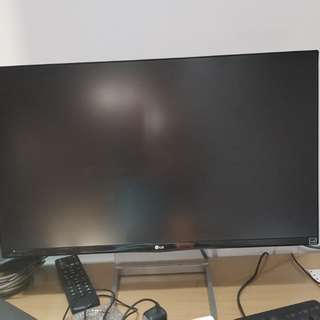 led ips lg 24 wide  frameless