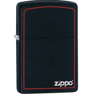 Zippo Classic Black and Red Zippo