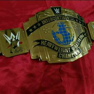 WTS: WWE Intercontinental Wrestling Belt Commemorative Plates
