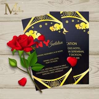 Kad Jemputan VIP/ Invitation card for VIP