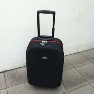 President 22 inches cabin luggage with combination lock. In good condition.