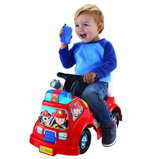 Fisher Price little people fire truck ride on