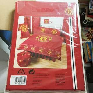🆕Manchester United 曼聯 Duvet Cover Set - Double