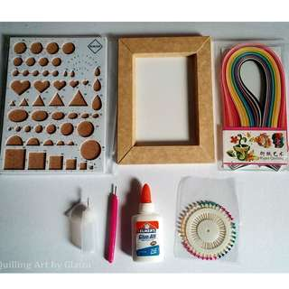 Paper Quilling Tools Starter Kit