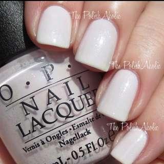 OPI Nail Polish T63 Chiffon My Mind