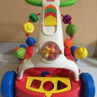 Fisher price walker ride to wagon