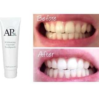 AP24 Whitening Fluoride Toothpaste (Ready Stock)