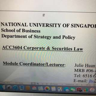 ACC3604 Corp Law notes
