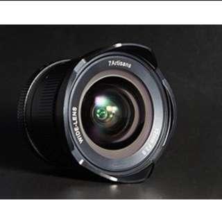 7artisans 12mm F2.8 (apsc) e-mount only