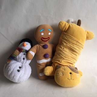 Soft toy for kids, 3pcs