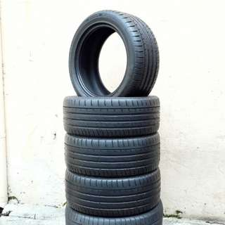 Used 245/45 R17(Sold) Continental (4pcs) 🙋♂️