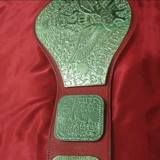WTS: WWWF / WWE Championship Wrestling Belt Replica Rare Edition Red