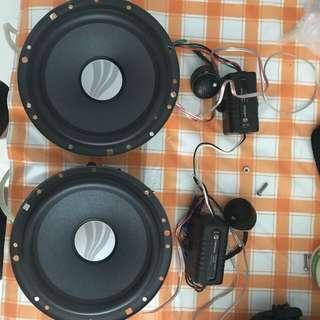 Rainbow bass driver speaker