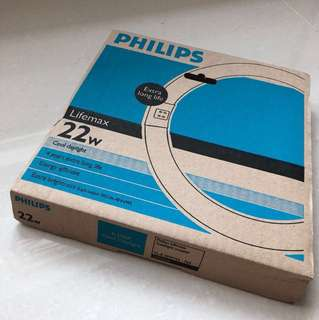 Philips Lifemax Tubelight circular 22W Cool daylight