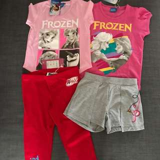 Brand new with tag Disney t shirt and pants