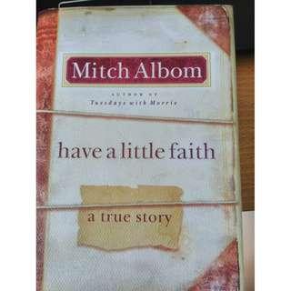 Mitch Albom Have a little faith