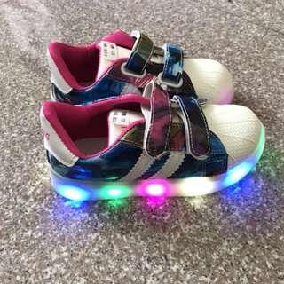 Last Grab Girl's LED Shoes