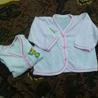 Baju Bayi Lengan Panjang
