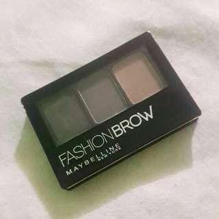 maybelline fashionbrow shade gray eyebrow powder