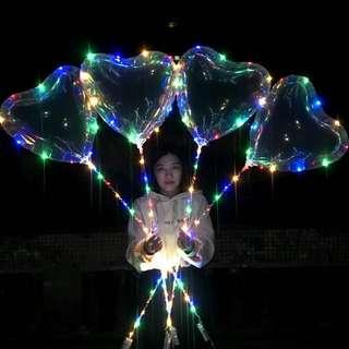 *Instocks* LED Heart Shape Balloons