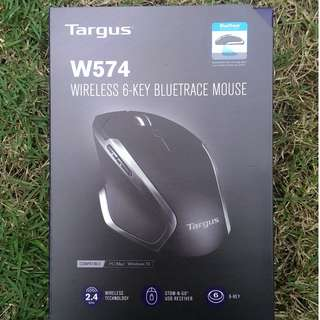 Targus W574 wireless bluetrace mouse