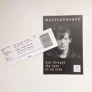 Robert Mapplethorpe Exhibition Tickets