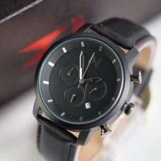 Jam Tangan Pria MVMT CHRONO ACTIVE BLACK