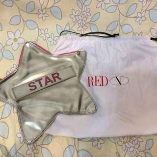 Red Valentino Star Clutch