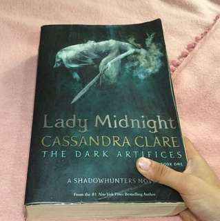 Lady Midnight Cassandra Clare 'The Dark Artifices'(Book One) A SHADOWHUNTERS NOVEL