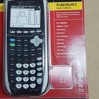 New in Box TI84 TI-84 plus C Silver Edition Texas instruments Math Calculator
