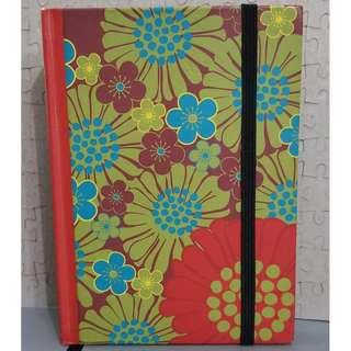 Flowery Notebook with Freebie