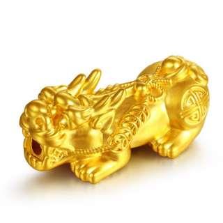 万大福黄金貔貅配件 24k Gold Pixiu Pi Xiu Pi Yao accessories M size