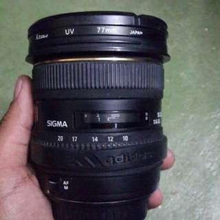 SIGMA wide lens