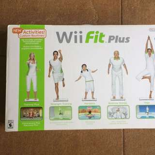rush sale!! wii fit plus balance board with cd