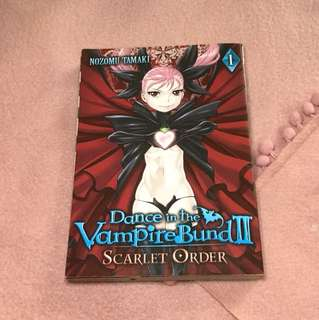 Dance in the Vampire Bund II Scarlets Order