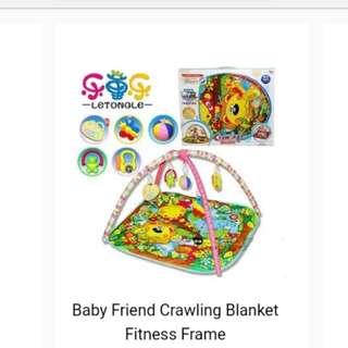 Baby crawling blanket